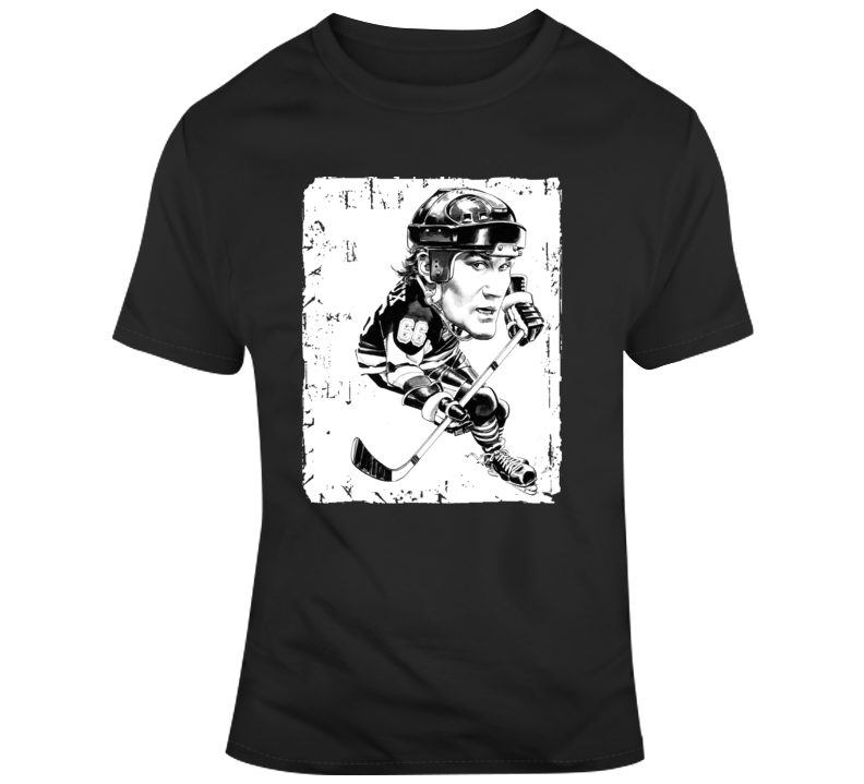 Mario Lemieux Cartoon Caricature T Shirt