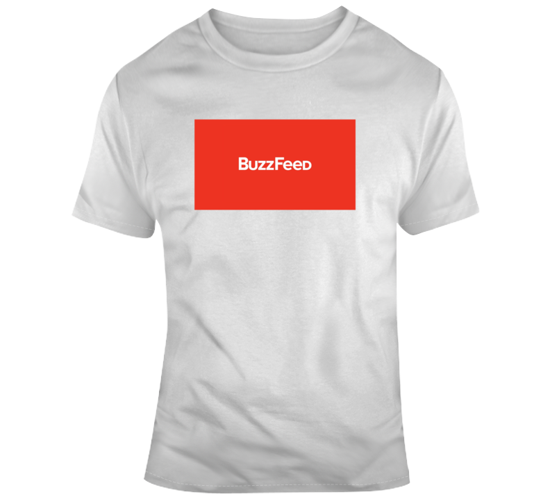 Buzzfeed Company Logo T Shirt