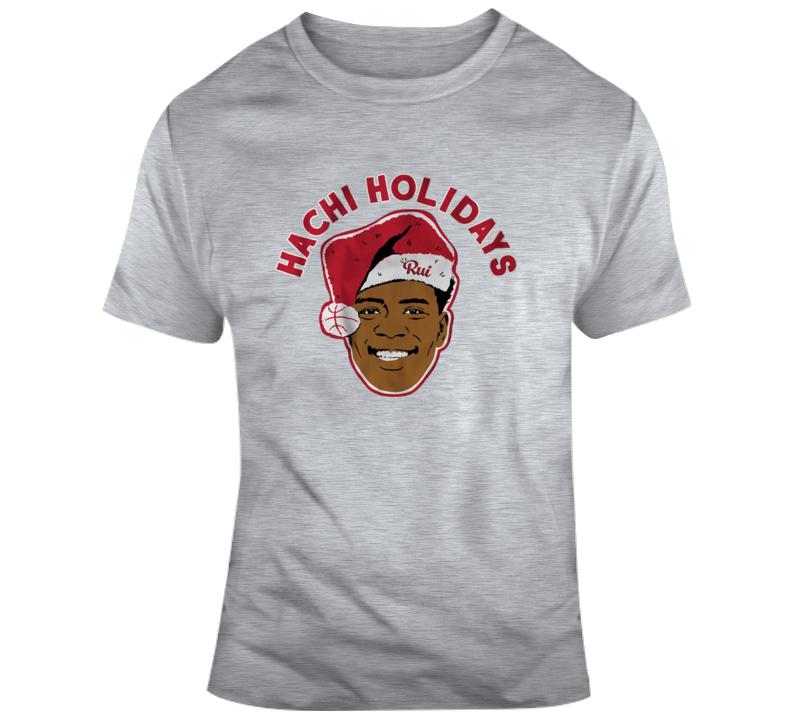 Rui Hachimura Holidays T Shirt