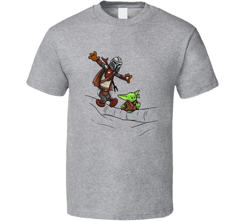 Mando And Baby Yoda T Shirt