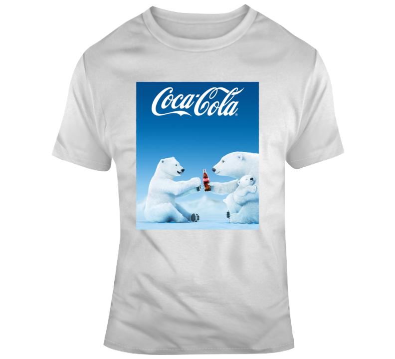 Coca Cola Bear Commercial T Shirt