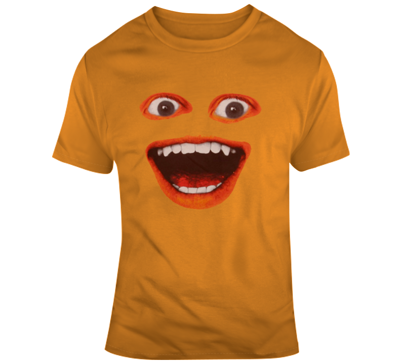 Annoying Orange Big Face Parody T Shirt