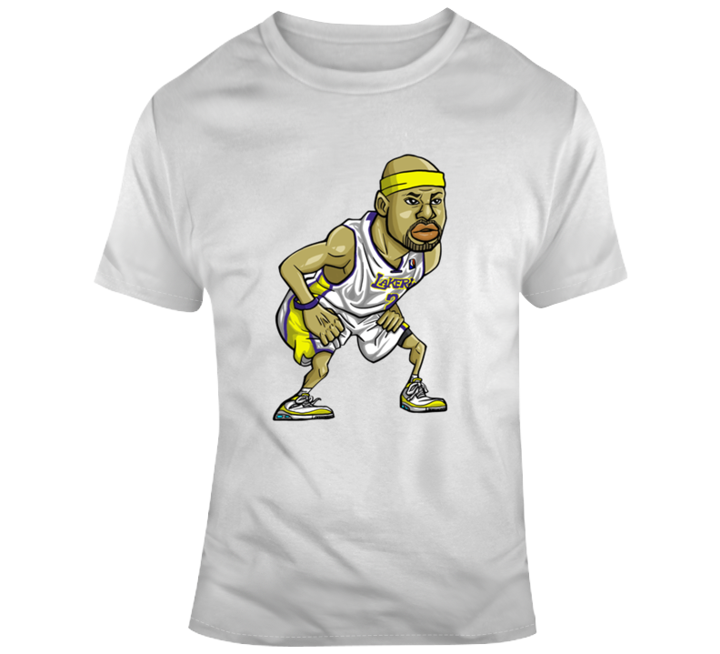 Derek Fisher Caricature T Shirt