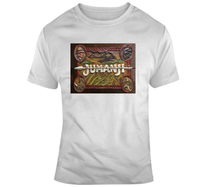 Jumanji Board Retro Old School T Shirt