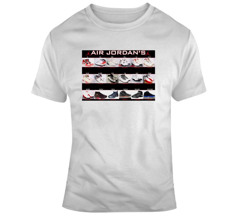 Air Jordan 1 To 23 Jordan Collection T Shirt