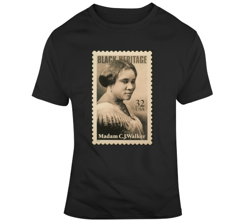 Madame Cj Walker T Shirt