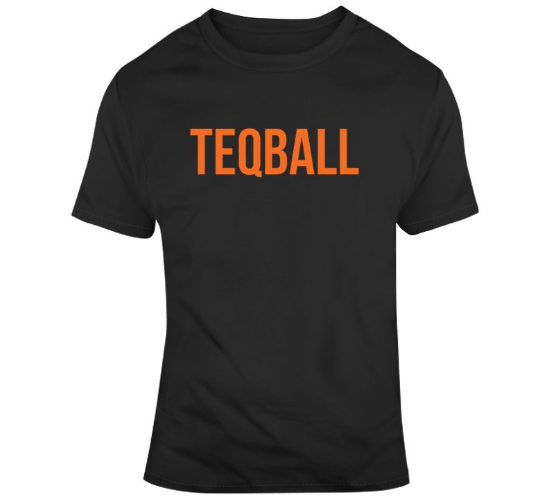 Teqball Logo Game Fan T Shirt