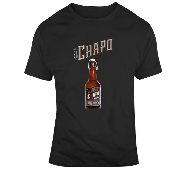 El Chapo Beer Logo T Shirt