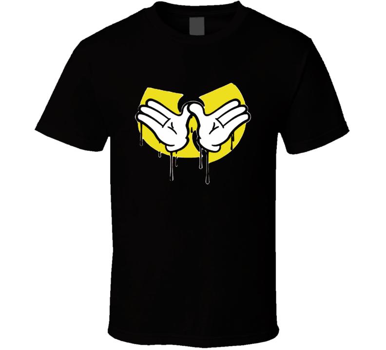 Mickey Hands Parody T Shirt