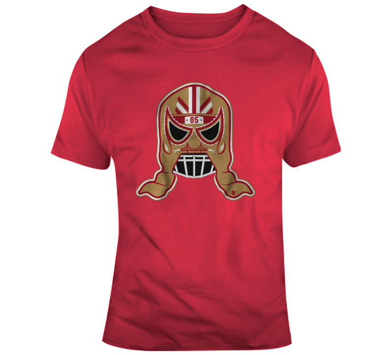 George Kittle Lucha Mask T Shirt