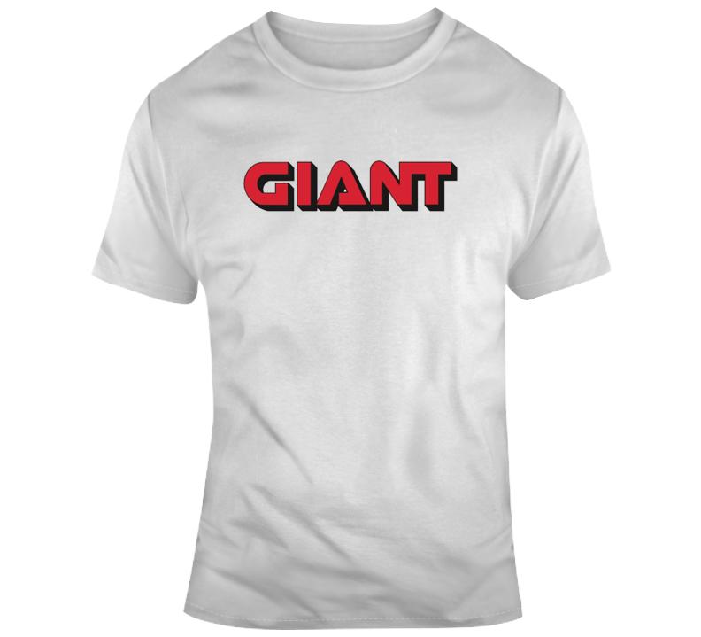 Giant Gas Station Logo T Shirt