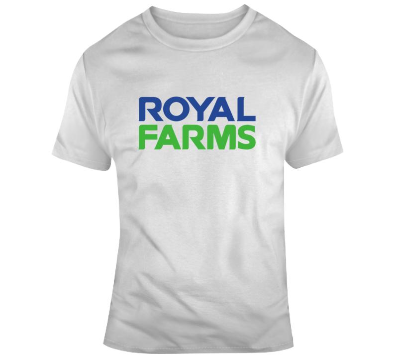 Royal Farms Brand Logo T Shirt