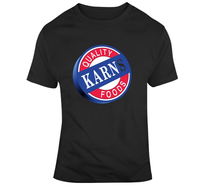 Karns Food Fan Logo T Shirt