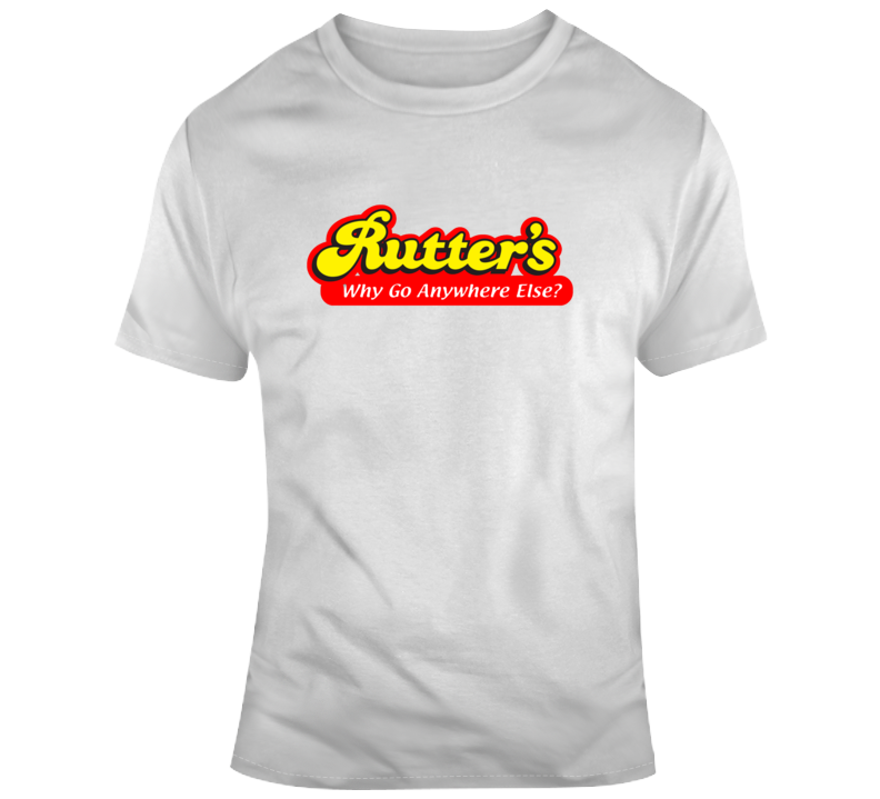 Rutters Gas Station Brand Convenience Logo T Shirt