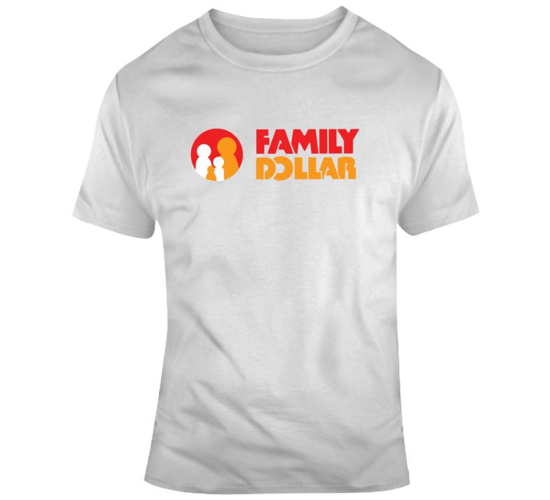 Family Dollar Brand Logo T Shirt