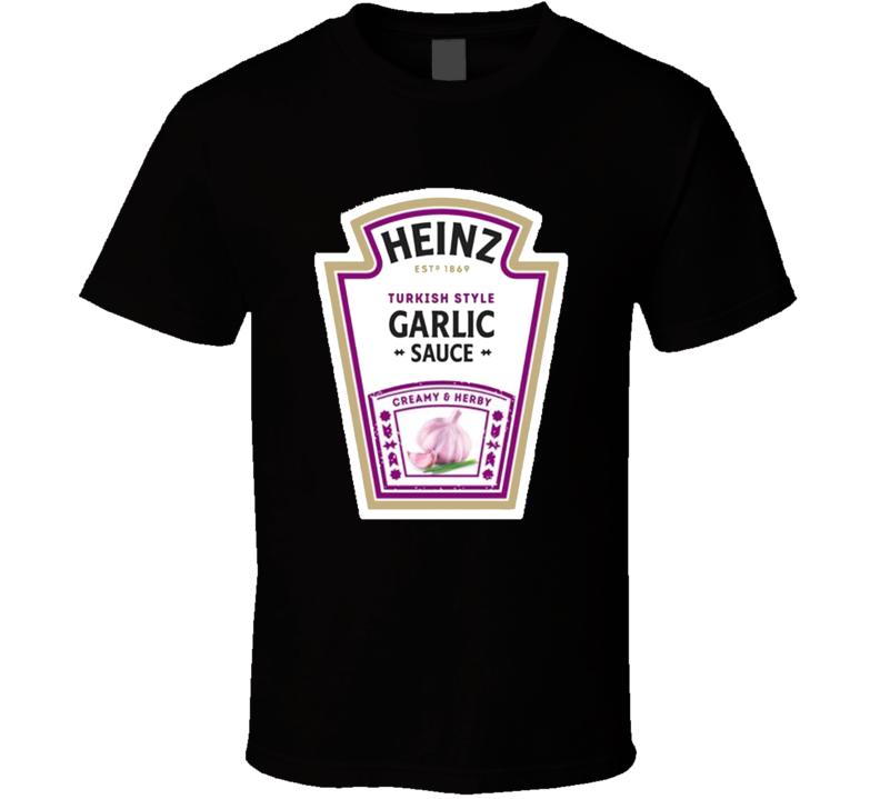Heinz Garlic Sauce T Shirt
