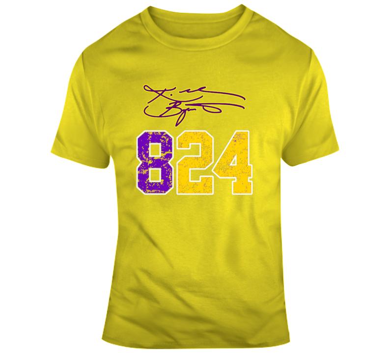 Kobe Bryant Signature Fan T Shirt