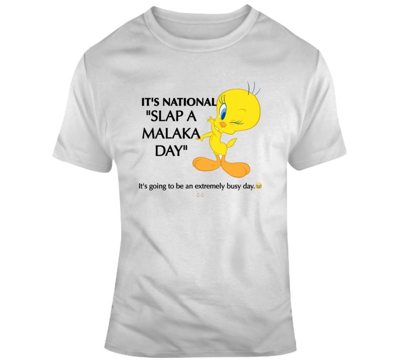 Stupid Malaka Parody T Shirt