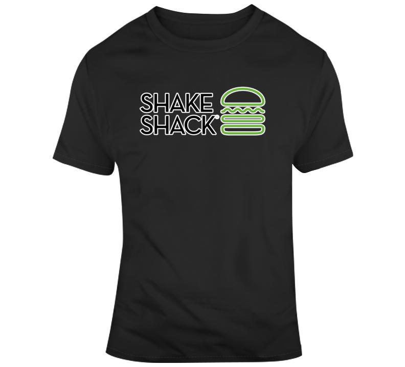 Shake Shack Burger Logo T Shirt