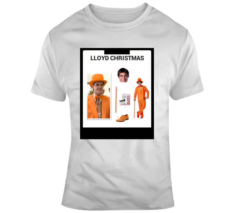 Lloyd Christmas Kit Halloween  Costume Parody T Shirt