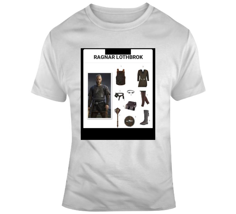 Ragnar Lothbrok Starter Kit Halloween  Costume Parody T Shirt