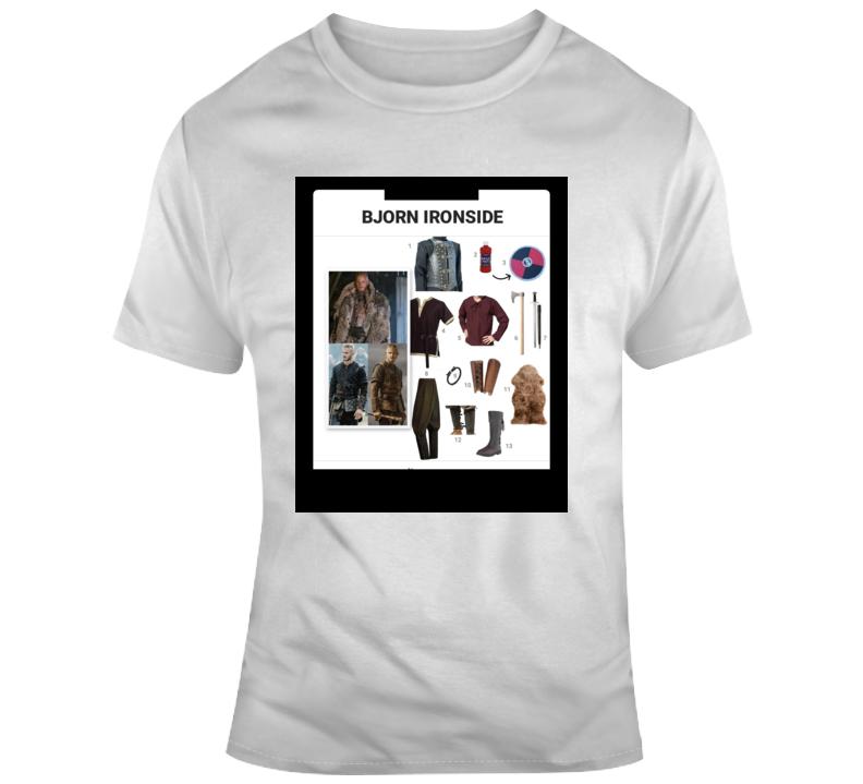 Bjorn Ironside Starter Kit Halloween  Costume Parody T Shirt
