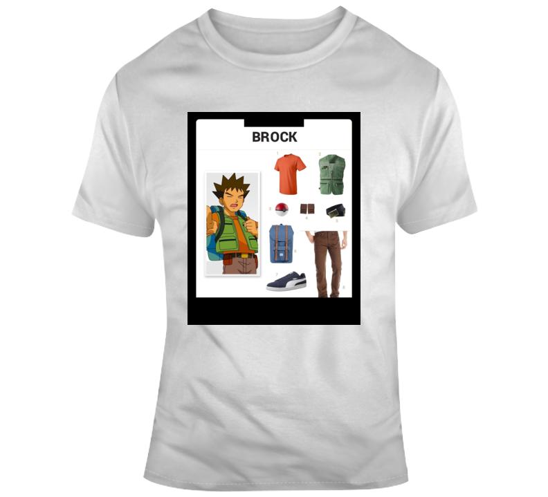 Brock Starter Kit Halloween  Costume Parody T Shirt