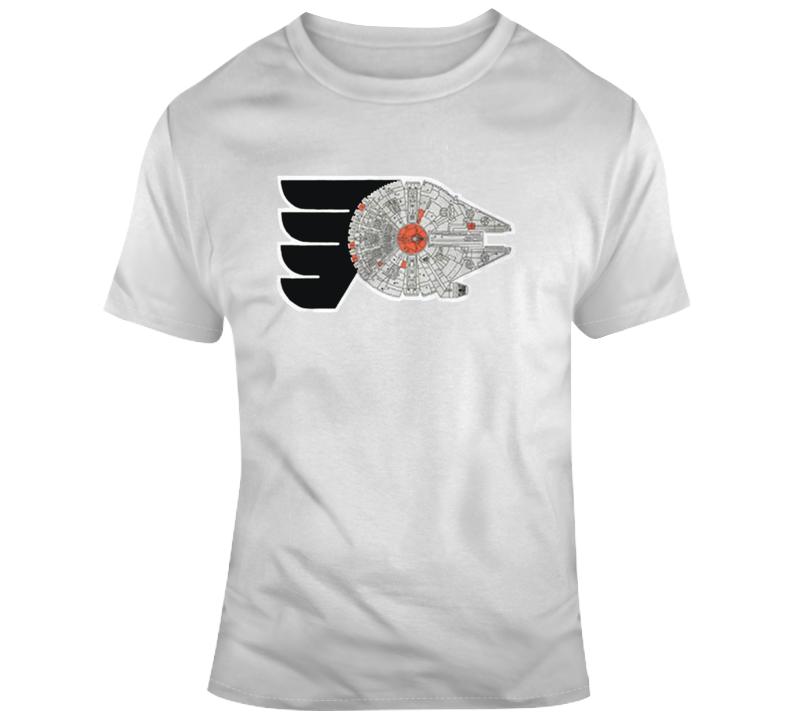 Star Wars Philadelphia Millennium Falcon T Shirt