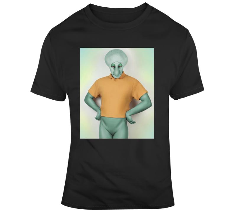 Real Life Squidward Cartoon T Shirt