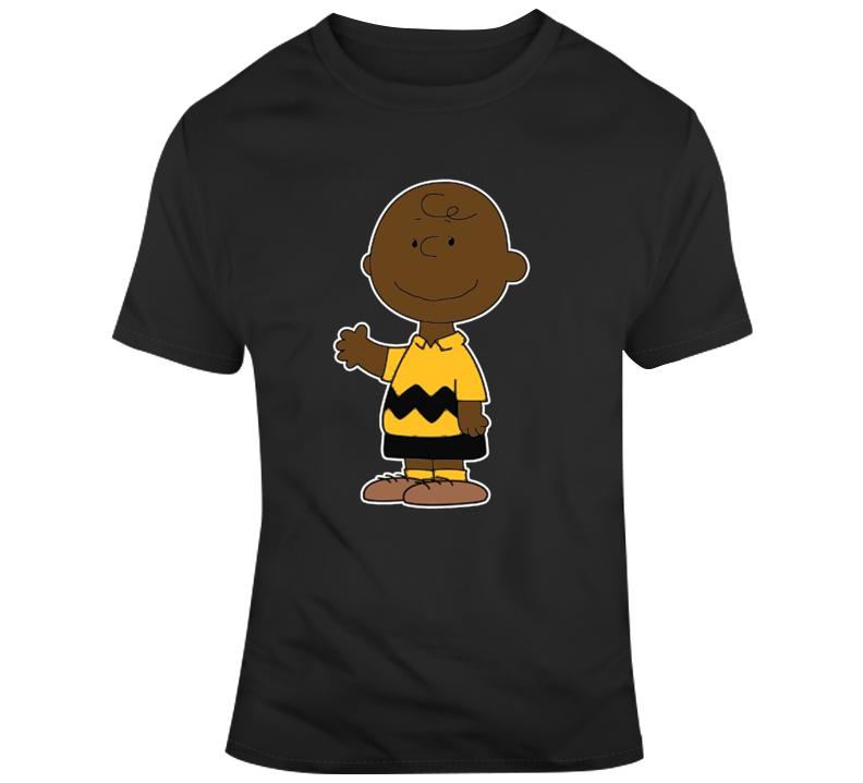 Black Urban Charlie Brown T Shirt