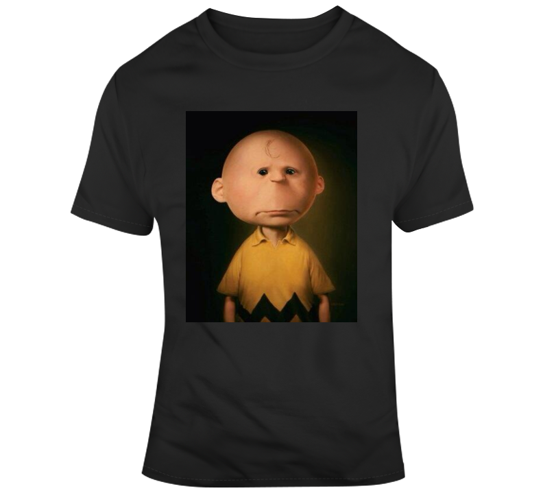 Real Life Charlie Brown If Charlie Brown Was Real T Shirt