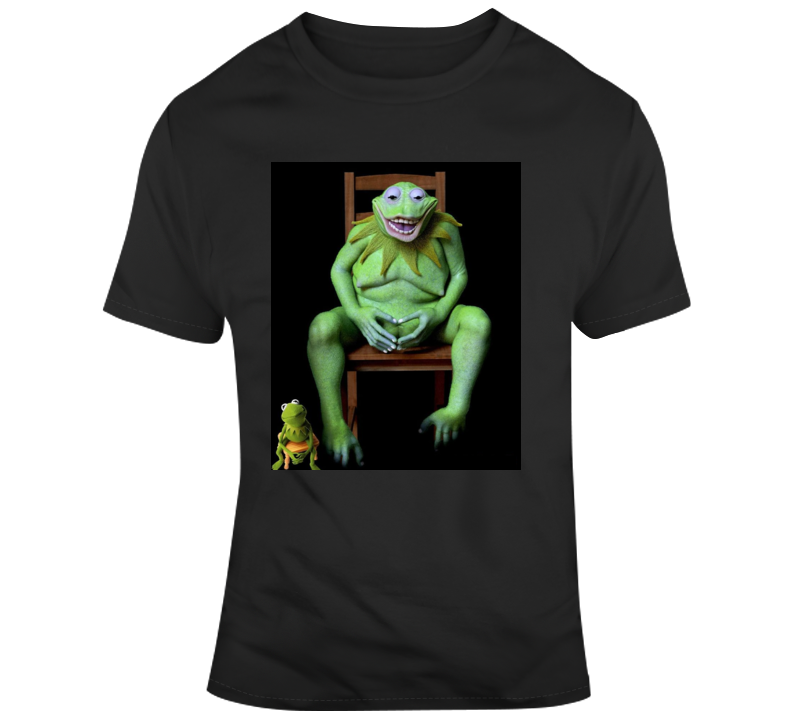 Real Life Kermit The Frog Parody T Shirt