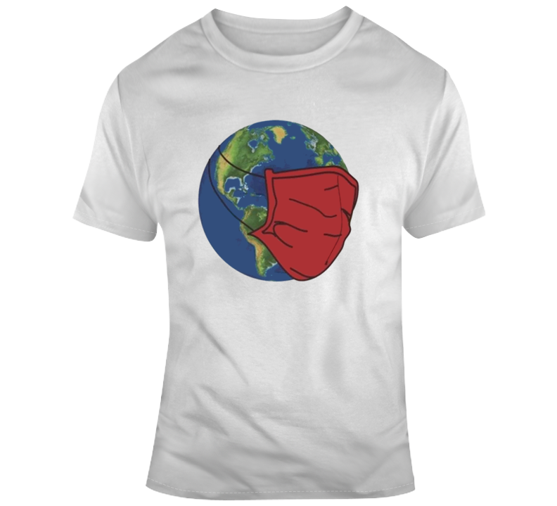 The World Wearing Mask 2020 Sucks T Shirt