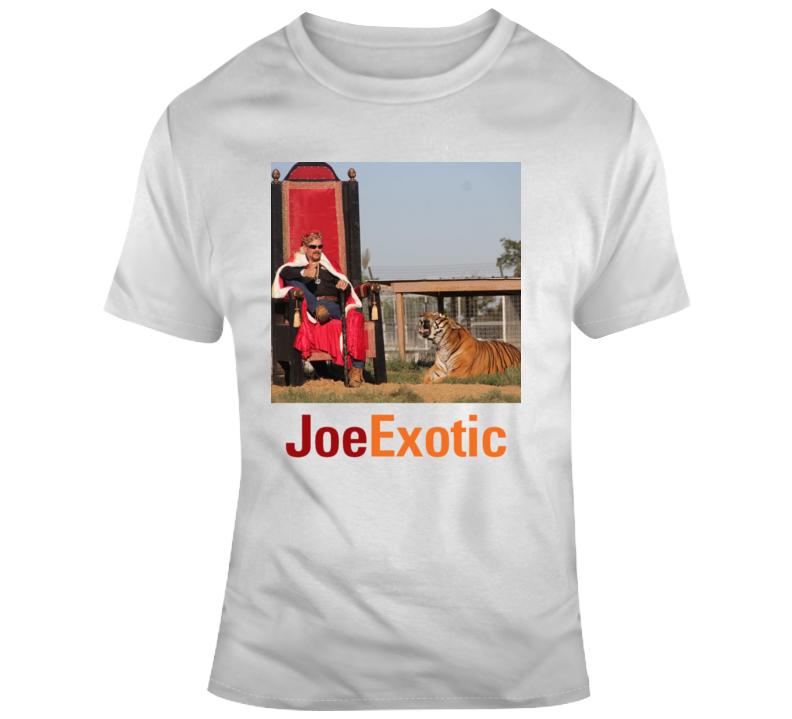 Joe Exotic Tiger King T Shirt