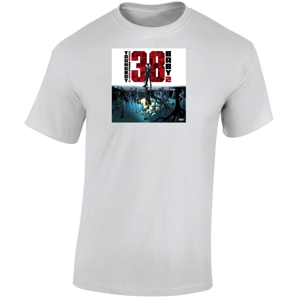 Nba Youngboy 38 Baby 2 Album Never Broke Again T Shirt