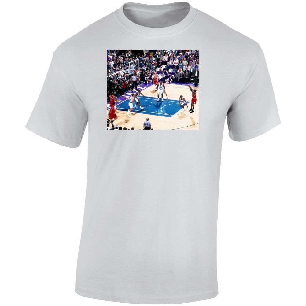 Michael Jordon Over Bryon Russel T Shirt