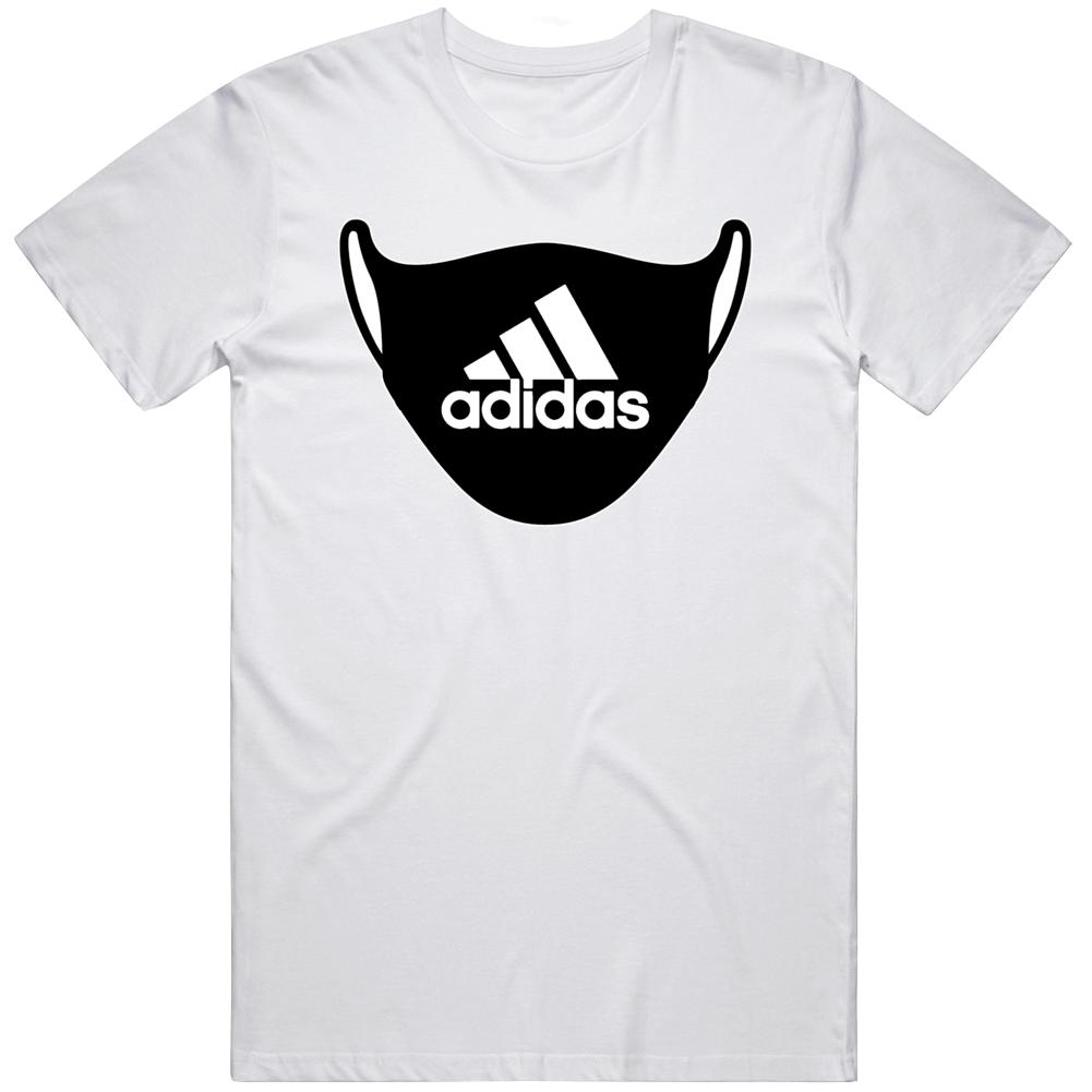 Adidas Face Mask Parody T Shirt