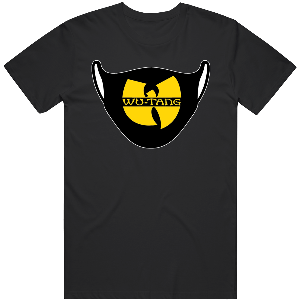 Wu-tang Face Mask Parody T Shirt