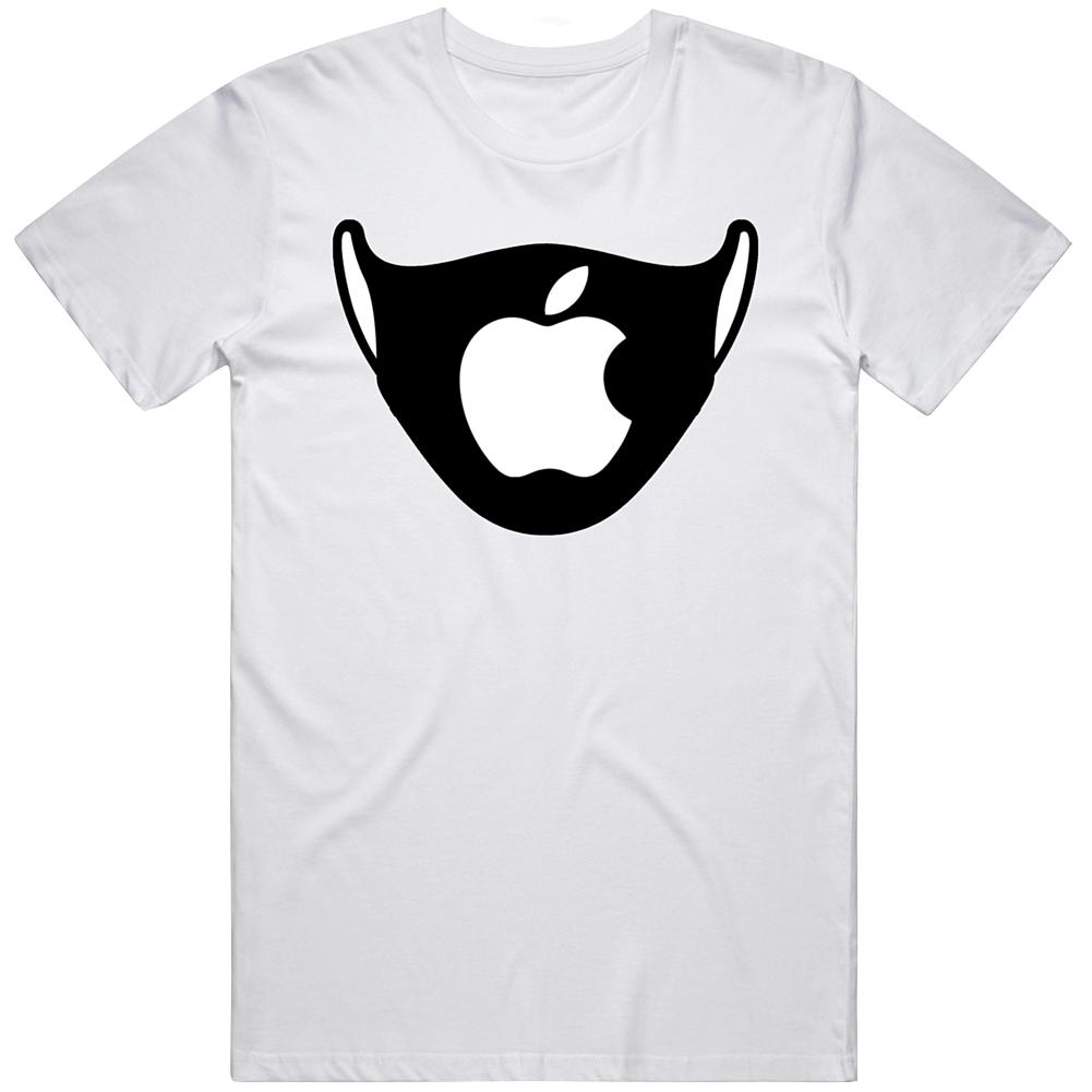 Iphone Logo Face Mask Parody T Shirt