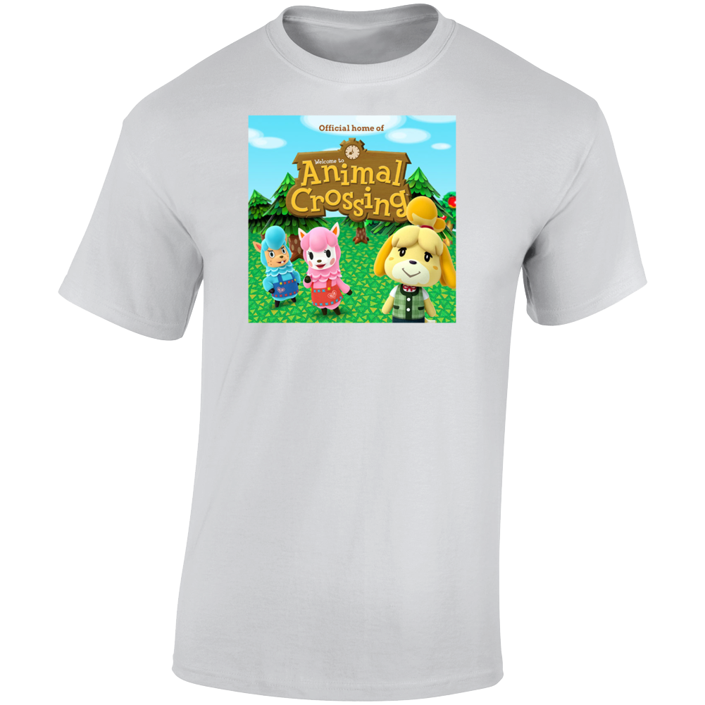 Animal Crossing App Game T Shirt
