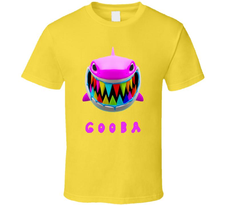 Gooba Merch Shark Fan T Shirt