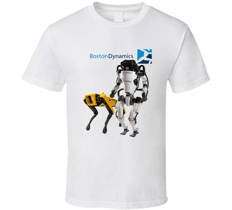 Boston Dynamics Spot And Atlas T Shirt