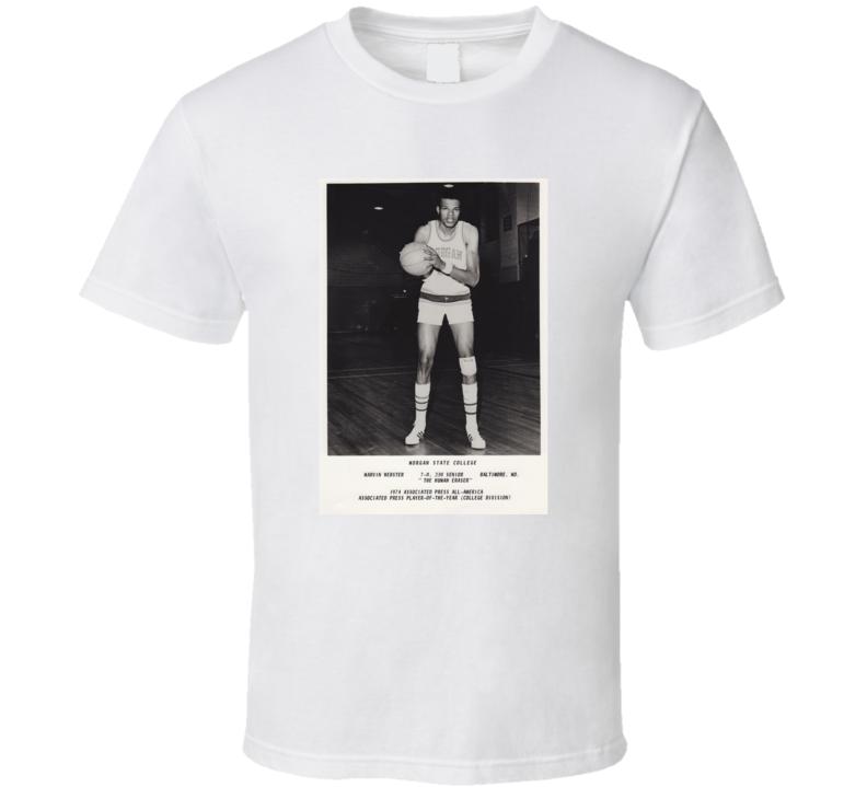 The Human Eraser Marvin Webster Basketball T Shirt