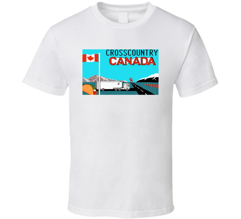 Cross Country Canada T Shirt