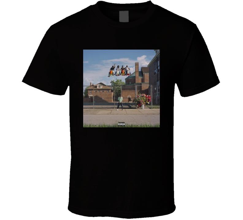 Detroit 2 Big Sean Music Cover T Shirt