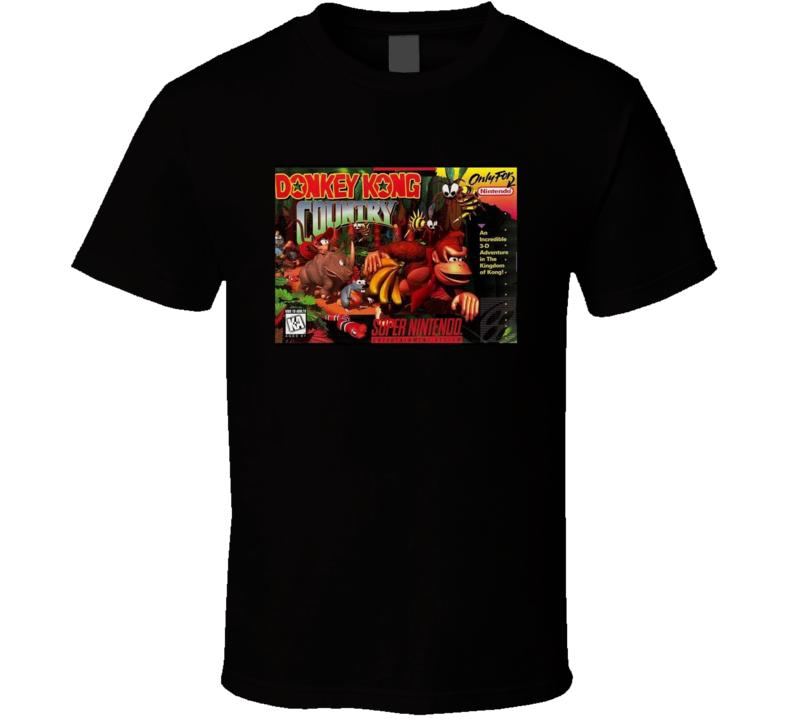 Donkey Kong Country Retro T Shirt