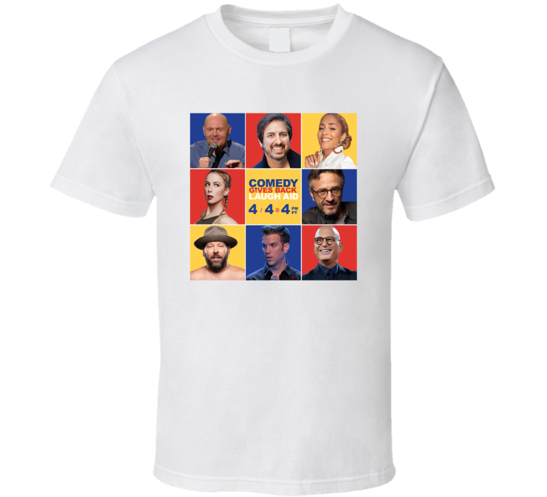 Comdey Gives Back Laugh Aid T Shirt