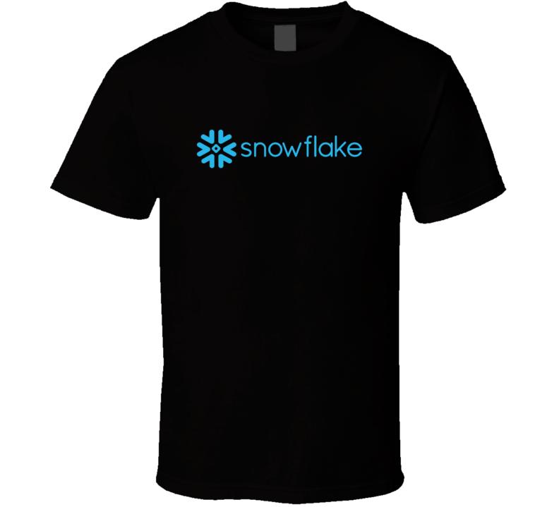 Snowflake Stock Ticker T Shirt