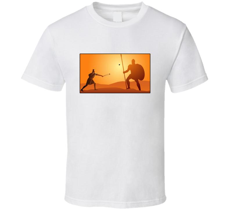 David And Goliath Sling Shot T Shirt
