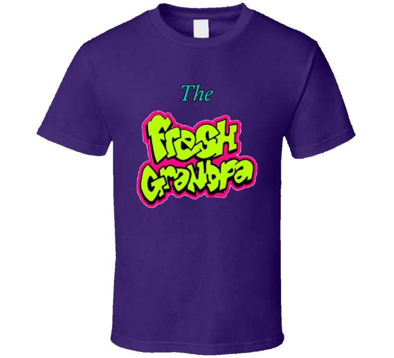 The Fresh Granpa Fresh Prince Parody T Shirt